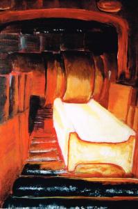Gemälde für das titelbild des Peine Krimibandes